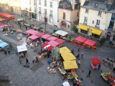 Rennes-Place des Lices