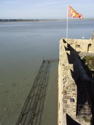 Le Mont-Saint-Michel-grande marée