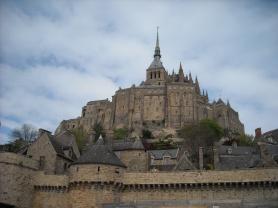 Le Mont-Saint-Michel-vue générale