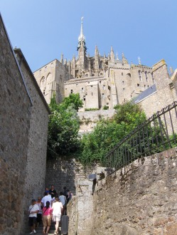 Le Mont-Saint-Michel-village