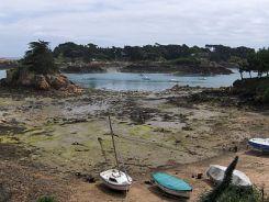 Bréhat-marée basse